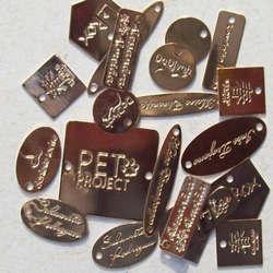 placas de inox personalizada